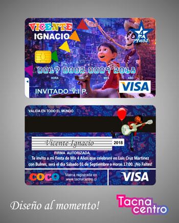Tarjetas De Cumpleaños Visa